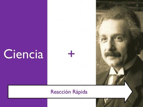 Asociación Ciencia-Einstein - Reacción cerebral rápida