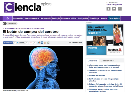 Cienciaexplora - Neuromarketing